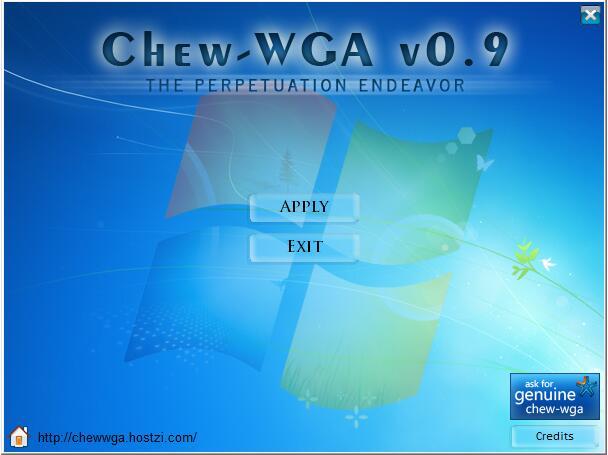 三星win7激活工具(ChewWGA_V0.9)绿色版