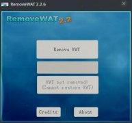 windows7激活 RemoveWAT V2.2.6 绿色版